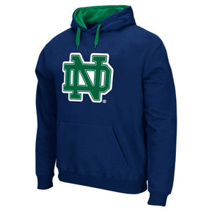 Notre Dame Fighting Irish Navy Men's Cotton Hoodie Sweatshirt