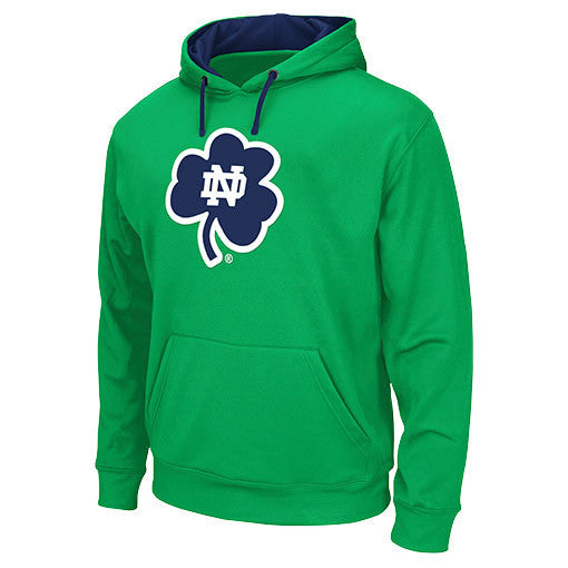 Notre Dame Fighting Irish Navy Men's Polyester Blend Hoodie Sweatshirt