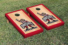 Ohio State Buckeyes Cornhole Game Set Hardcourt Border Version