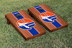 Florida Gators Cornhole Game Set Rosewood Stained Stripe Version College Vault