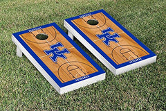 Kentucky Wildcats Cornhole Game Set Basketball Court Version