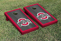 Ohio State Buckeyes Cornhole Game Set Onyx Border Version