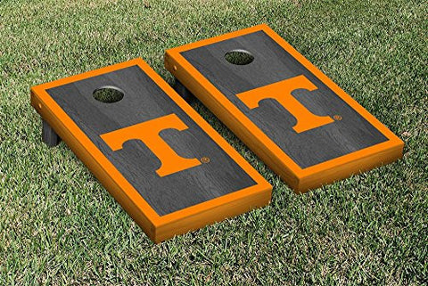 Picture of Tennessee Volunteers Cornhole Game Set Onyx Stained Border Version