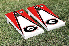 Georgia Bulldogs Cornhole Game Set Triangle Version