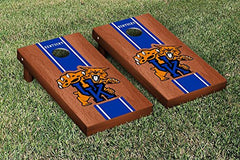 Kentucky Wildcats Cornhole Game Set Rosewood Stained Stripe Version 2