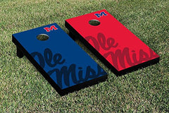Ole Miss Rebels Cornhole Game Set Watermark Version