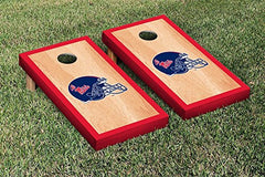 Ole Miss Rebels Cornhole Game Set Hardcourt Border Version