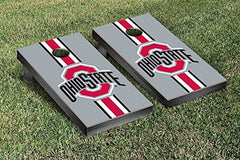 Ohio State Buckeyes Cornhole Game Set Stripe Version