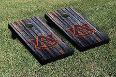 Auburn Tigers Cornhole Game Set Weathered Version