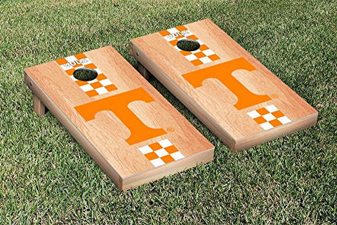 Picture of Tennessee Volunteers Cornhole Game Set Hardcourt Stripe Version