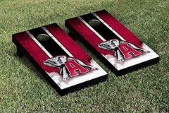 Alabama Crimson Tide Cornhole Game Set Grunge Version