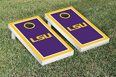 LSU Tigers Cornhole Game Set Border Version