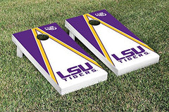 LSU Tigers Cornhole Game Set Triangle Version