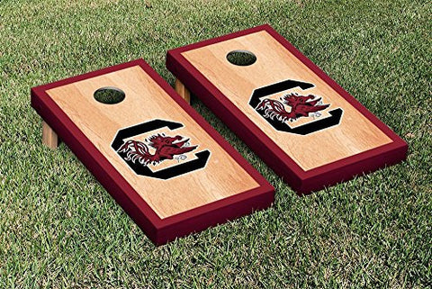 Picture of South Carolina Gamecocks Cornhole Game Set Hardcourt Version