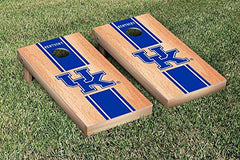 Kentucky Wildcats Cornhole Game Set Hardcourt Stripe Version 1