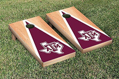 Texas A&M Aggies Cornhole Game Set Hardcourt Triangle Version