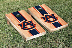 Auburn Tigers Cornhole Game Set Hardcourt Stripe Version 2