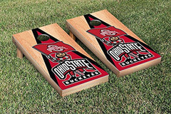 Ohio State Buckeyes Cornhole Game Set Hardcourt Triangle Version 2