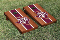 Texas A&M Aggies Rosewood Stained Cornhole Game Set