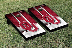 Oklahoma Sooners Cornhole Game Set Cloud Version