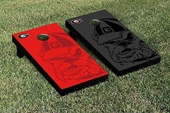 Georgia Bulldogs Cornhole Game Set Watermark Version
