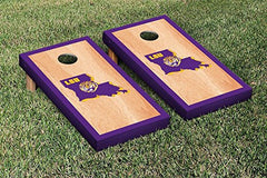 LSU Tigers Cornhole Game Set Hardcourt Border Version