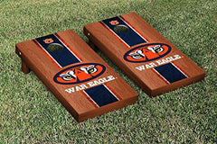 Auburn Tigers Cornhole Game Set Rosewood Stained War Eagle Version