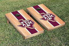 Texas A&M Aggies Cornhole Game Set Hardcourt Stripe Version