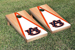 Auburn Tigers Cornhole Game Set Triangle Hardcourt Version