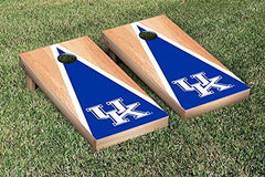 Kentucky Wildcats Cornhole Game Set Triangle Hardcourt Version