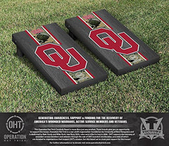 Oklahoma Sooners Cornhole Game Sets