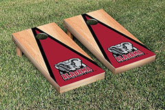Alabama Crimson Tide Cornhole Game Set Hardcourt Traingle Version 2