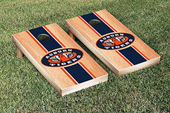 Auburn Tigers Cornhole Game Set Hardcourt Stripe Version