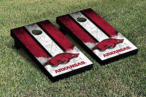 Picture of Arkansas Razorbacks Cornhole Game Set Vintage Version