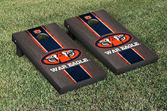 Auburn Tigers Cornhole Game Set Onyx Stained War Eagle Version