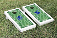 Kentucky Wildcats Cornhole Game Set Football Field Version