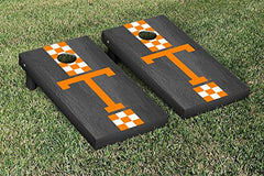 Tennessee Volunteers Cornhole Game Set Onyx Stained Stripe Version College Vault