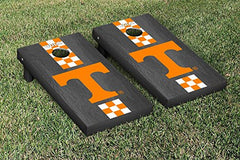Tennessee Volunteers Cornhole Game Set Onyx Stained Stripe Version