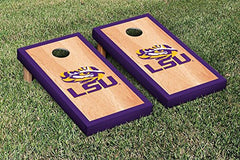 LSU Tigers Cornhole Game Set Hardcourt Version