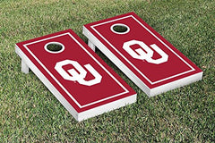 Oklahoma Sooners Cornhole Game Set Border Version