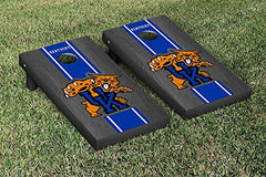 Kentucky Wildcats Cornhole Game Set Onyx Stained Stripe Version 2