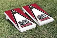 Alabama Crimson Tide Cornhole Game Set Triangle Version 2