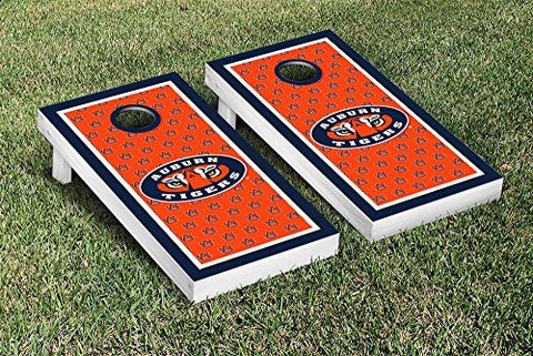 Picture of Auburn Tigers Cornhole Game Set Border Version 2