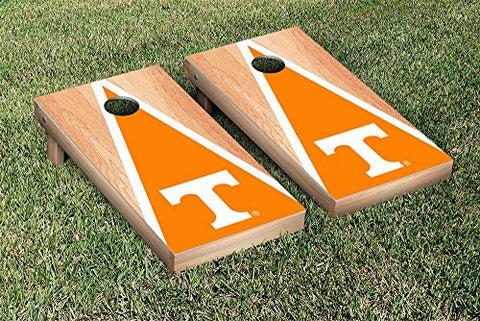 Picture of Tennessee Volunteers Cornhole Game Set Hardcourt Triangle Version