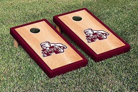 Picture of Mississippi State Bulldogs Cornhole Game Set Hardcourt Version