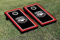 Georgia Bulldogs Cornhole Game Set Border Version 1