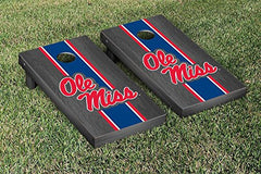 Ole Miss Rebels Cornhole Game Set Onyx Stained Version