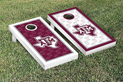 Picture of Texas A&M Aggies Cornhole Game Set Border Version 2
