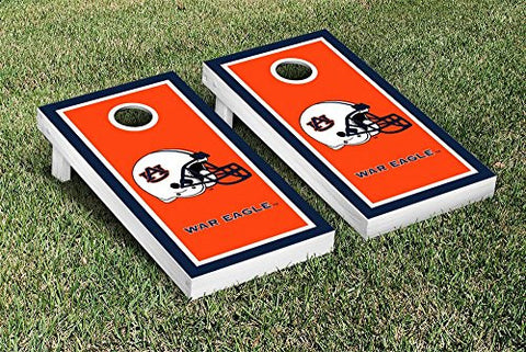Picture of Auburn Tigers Cornhole Game Set Border Version
