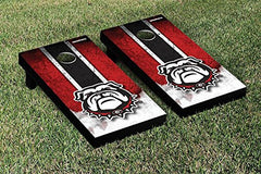 Georgia Bulldogs Cornhole Game Set Vintage Version 1